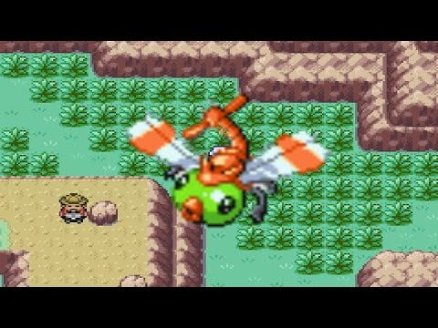 How to find Yanma in Pokemon Fire Red and Leaf Green
