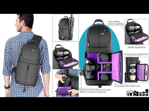 Top 5 bags for photographers 2018 just 30$ garb now