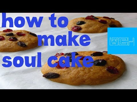 how to make soul cake as halloween at home