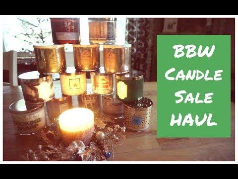 Bath & Body Works Candle Haul   BBW Candle Day