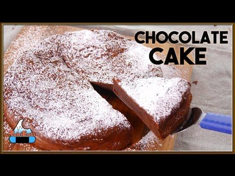 2 Ingredients Chocolate Cake (EASY RECIPE)【えっ?材料2つ】チョコレートケーキが出来ちゃった