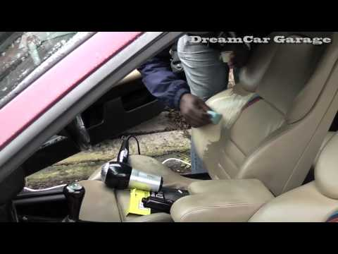 DCG1: How to repair a leather car seat rip/hole on an E36 BMW M3 Evolution