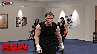 WWE 2K17 Custom Story - The Shield Meets Their Destiny? Raw 2017 ft. Lesnar, Kurt Angle - 29