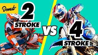 2 STROKE vs 4 STROKE ENGINES - How it Works   SCIENCE GARAGE