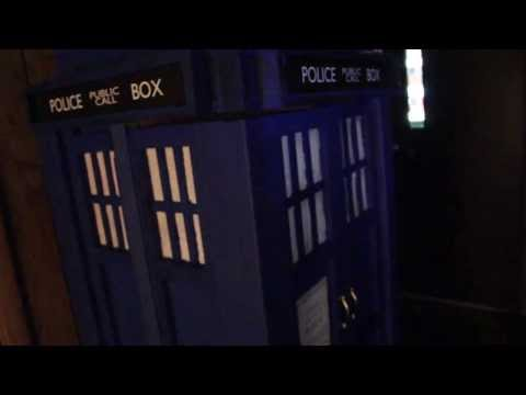 Dr Who Tardis Book and DVD Cabinet - the 10th Doctor's Tardis