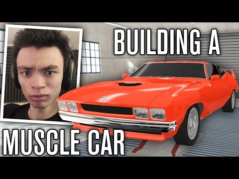 BUILDING MY FIRST MUSCLE CAR! | Automation - The Car Company Tycoon Game