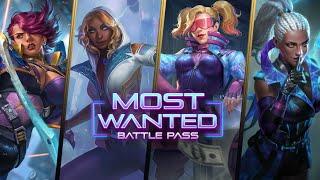 SMITE - Most Wanted Battlepass