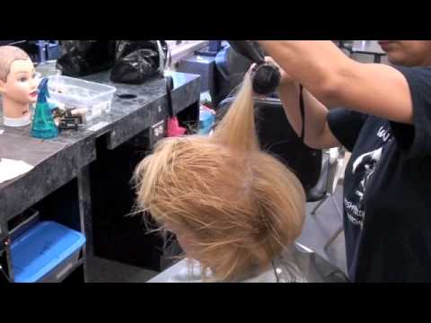 Hairstyling; Quick BLOW DRY, adding volume