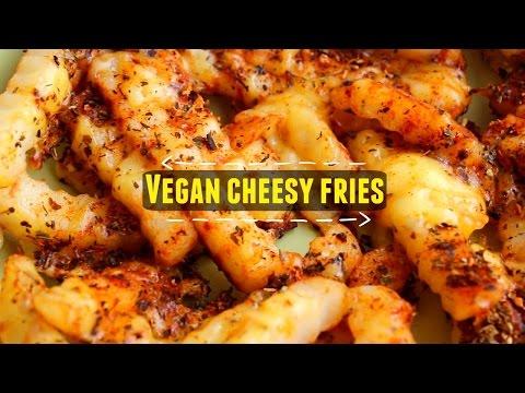 Vegan cheesy fries recipe