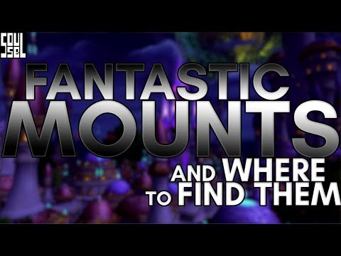 15 cool mounts worth getting that have no drop rate!
