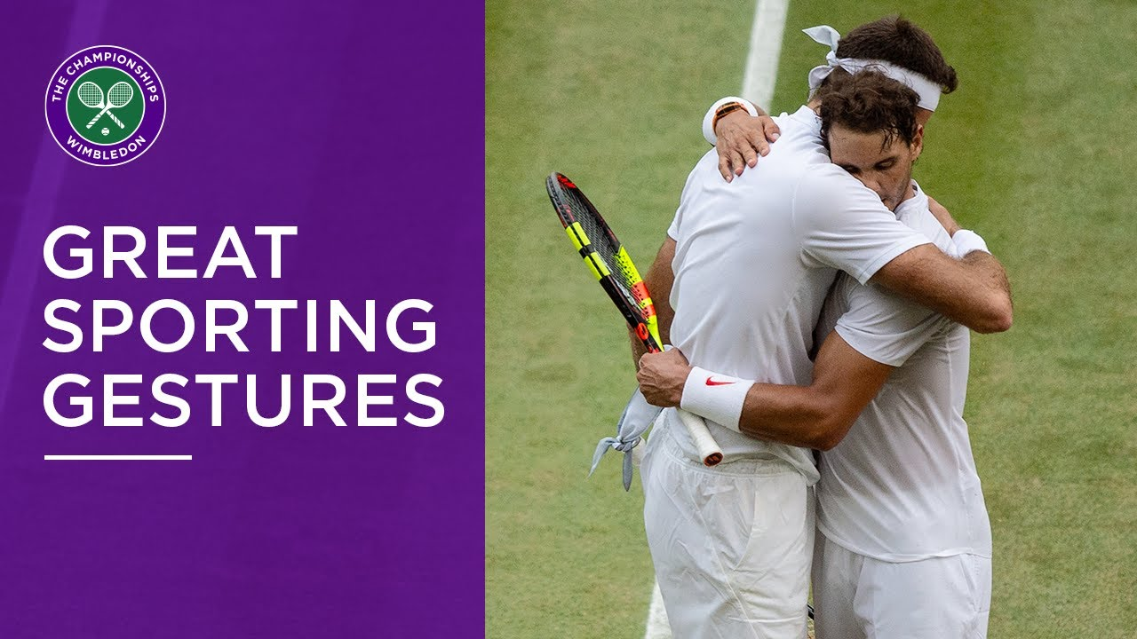 Wimbledon's Most Sporting Gestures