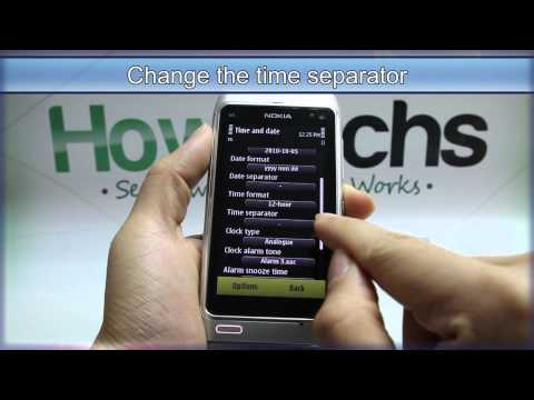 How to Set the Time and Date on Nokia N8