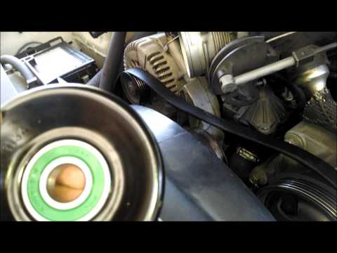 Ford Explorer idler pully replace squeal by froggy
