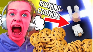 RISKING ALL OUR BISCUITS IN Tower Of Hell ROBLOX Gaming w/ The Norris Nuts