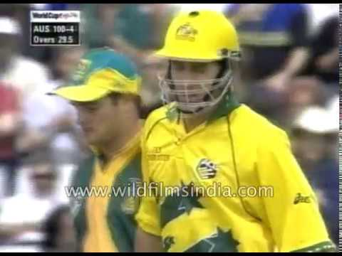 Australia vs South Africa : Cricket World Cup 1999 Semi Final