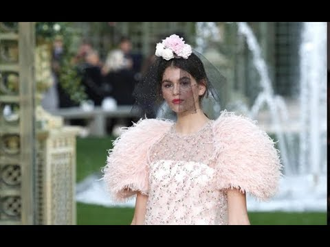 Chanel Haute Couture Spring Summer 2018 Show
