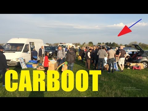 Carboot Hunting For Items To Resell & Haul Video