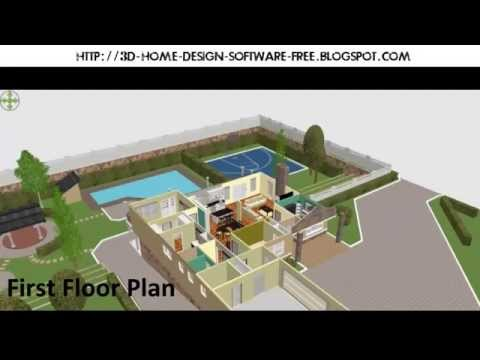 Best 3D Home Design Software For Win XP/7/8 Mac OS Linux [