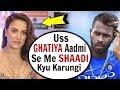 Download Elli Avram INSULTS Hardik Pandya In FRONT Of Media MP3,3GP,MP4