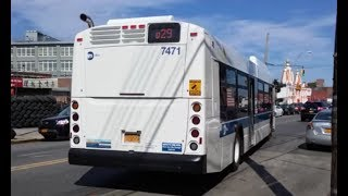 Nyc Bus Orion Vii Hev Q38 3745 Q29 Bus 3747 At Woodhaven Blvd