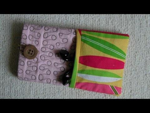 How To Sew A IPhone Case - DIY  Tutorial - Guidecentral