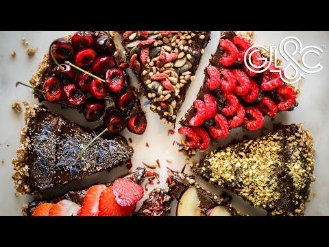 Raw Vegan Dark Chocolate Tart | With Grant Hinds | GLAC