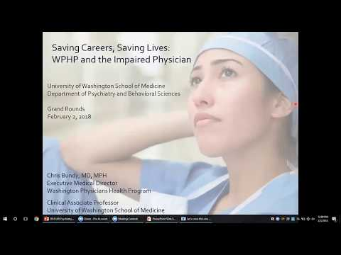 Saving Careers, Saving Lives: WPHP and the Impaired Physician
