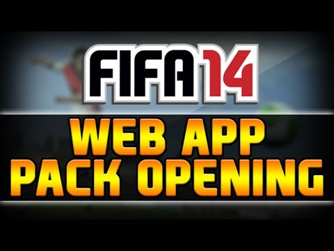 FIFA 14 WEB APP | FREE PACK OPENING | 3 Accounts Worth!