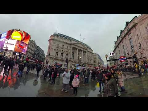 London 360 Street performers Gopro Fusion Test