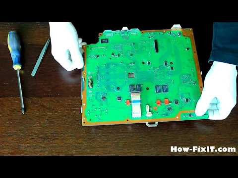 Playstation 3 PS3 FAT disassembly and fan cleaning, разборка и чистка консоли