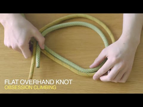 Climbing tips: EURO DEATH KNOT! (flat overhand knot)