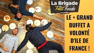 Ce BUFFET à VOLONTÉ XXL met K.O la BRIGADE des FAST FOODS??- VLOG #923