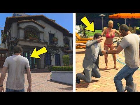 O que acontece se o Michael e Trevor se encontrar antes do trevor ser introduzido no jogo? GTA 5