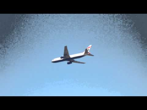 British Airways Boeing 777 take off from Tel Aviv,Israel (TLV - LLBG)
