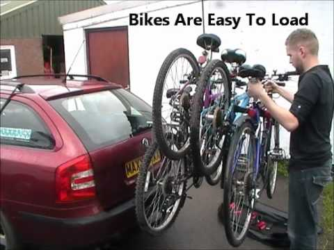 How To Load Bikes Safely On A Tow-Bar
