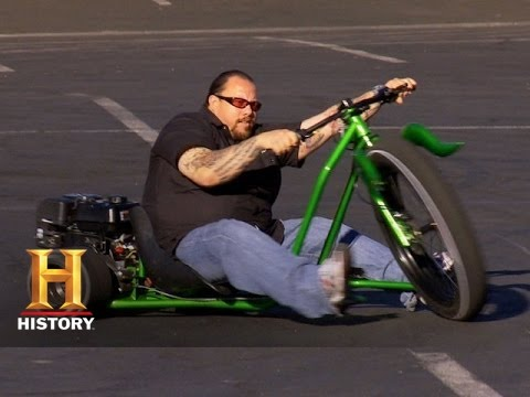 Counting Cars: Doing Burnouts on the Big Wheel Drifter | History