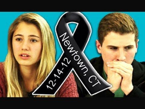 Teens React to Newtown School Shooting