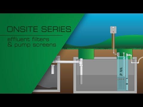 Effluent Filters and Pump Screens