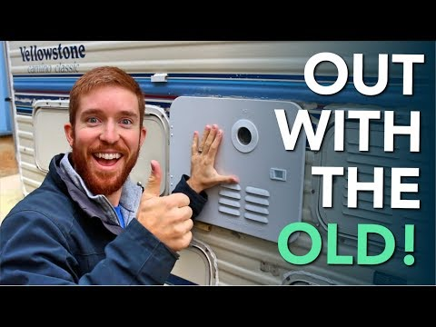 Installing a New Girard Tankless Instant RV Hot Water Heater