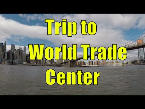 Walking Brooklyn Heights and Riding a Citi Bike over the Brooklyn Bridge to World Trade Center, NYC