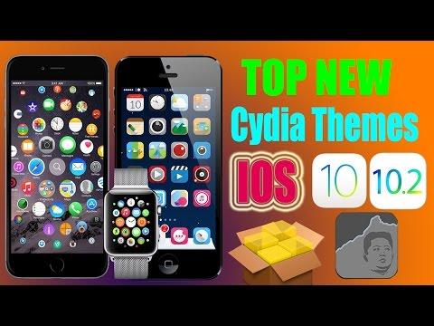 TOP New Cydia Themes IOS 10 - 10.1.1 - 10.2 JB / 2017