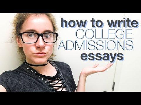 HOW TO WRITE COLLEGE APP ESSAYS