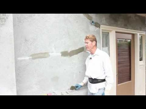fiberglass mesh to protect from hairline cracking on stucco walls