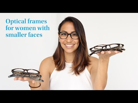 Warby Parker   Unboxing glasses for women with narrow faces