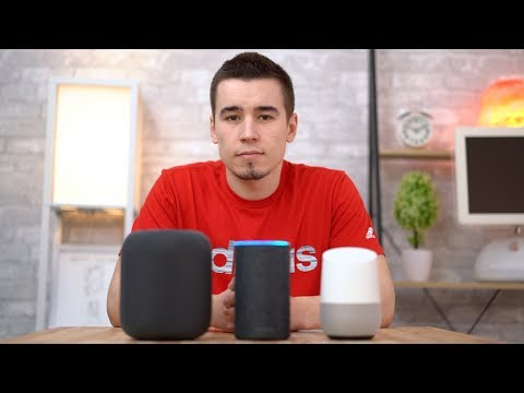 Smart Speaker Voice Assistant Comparison - HomePod's Siri vs Echo's Alexa vs Google Home's Assistant