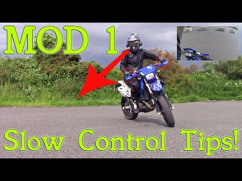 Motorcycle Slow control tips for module 1