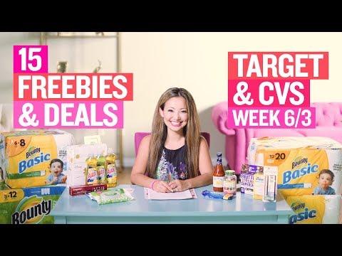 ★ 15 Target & CVS Coupon DEALS & FREEBIES (Week 6/3 – 6/9)