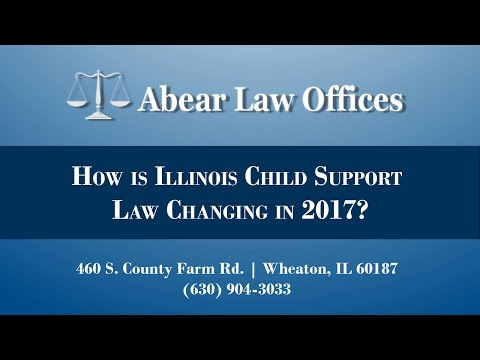 How is Illinois Child Support Law Changing in 2017?