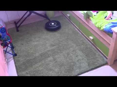 irobot roomba 650 cleaning carpet