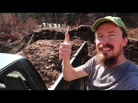 Build Your Soil For  Free - Wood Chip Compost